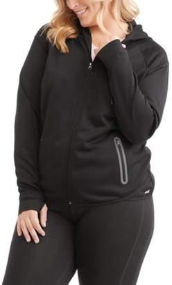 497d7139897 Avia Womens Plus Size Core Active Ascent Full Zip Performance Jacket