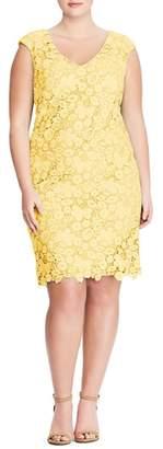 Lauren Ralph Lauren Montie Lace Sheath Dress