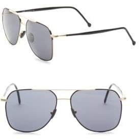 Kyme 56MM Aviator Sunglasses