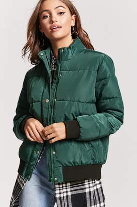 Forever 21 Puffer Jacket