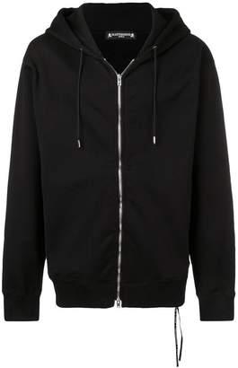 Mastermind Japan hooded zip front sweatshirt
