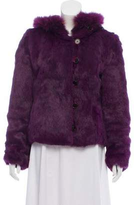 Etro Hooded Fur Jacket