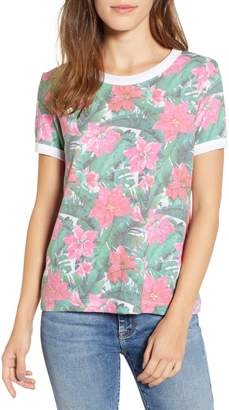 Wildfox Couture Island Holiday Johnny Ringer Tee