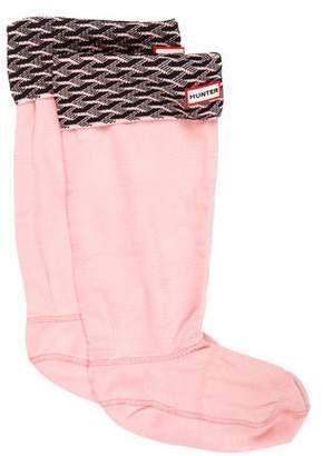 Hunter Girls' Boot Socks w/ Tags