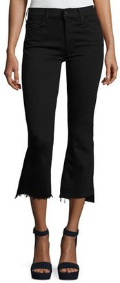 Mother Denim Insider Crop Step Fray Jeans, Not Guilty $205 thestylecure.com