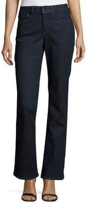NYDJ Barbara Boot-Cut Denim Jeans, Dark Enzyme $110 thestylecure.com