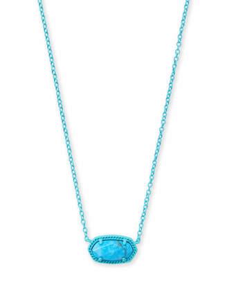 Kendra Scott Elisa Matte Pendant Necklace