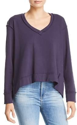 Wilt Seamed V-Neck Sweatshirt