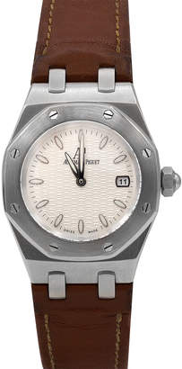 Audemars Piguet Pre-Owned 33mm Royal Oak Watch w/ Leather Strap