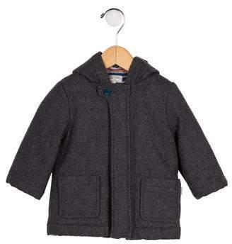 Paul Smith Boys' Wool Hooded Coat