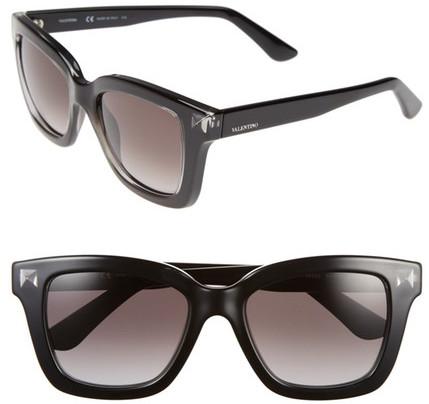 ValentinoValentino Women&s Rockstud Retro Squared Stud Sunglasses
