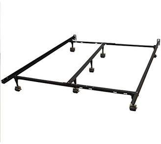Classic Brands Hercules Universal Heavy-Duty Metal Bed Frame | Adjustable Width Fits Twin