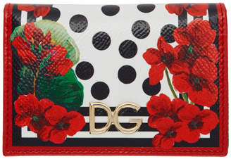 Dolce & Gabbana Red Bifold Card Holder