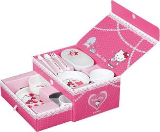 SANRIO Hello Kitty Baby Tableware Set Box (japan import)