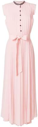Philosophy di Lorenzo Serafini pleated sleeveless maxi dress