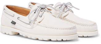 Paraboot Arpenteur + Malo Suede Boat Shoes