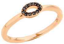 Ivanka Trump Affinity Black Diamond Oval Ring $640 thestylecure.com