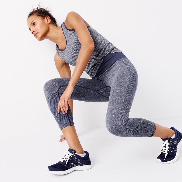 New Balance® for J.Crew seamless capri leggings