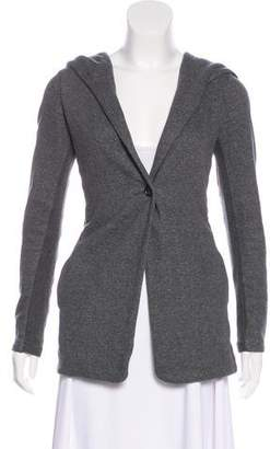 James Perse Hooded Knit Jacket