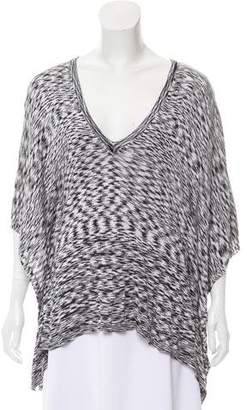 Michael Kors Knit Draped Top