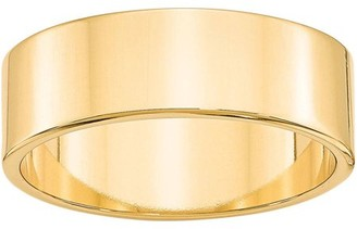 Generic 14KY 7mm LTW Flat Band Size 7