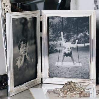Christofle Filets 7x9 Single Frame