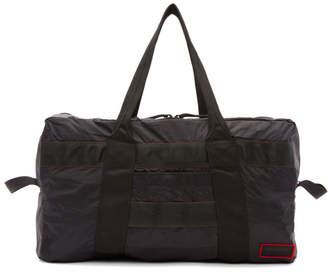 John Elliott Black Convertible 2-in-1 Duffle Bag
