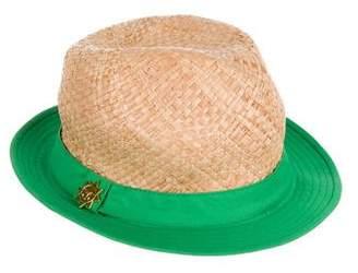 Jonathan Adler Straw Wide-Brim Hat
