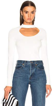 Frame Cutout Sweater