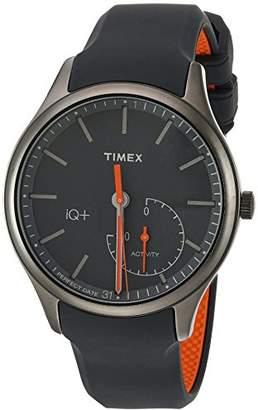 Timex Men's TW2P95000 IQ+ Move Activity Tracker Silicone Strap Smart Watch