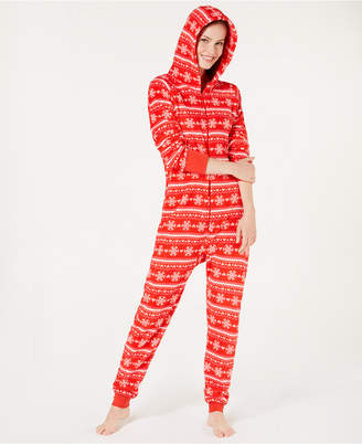 Jenni Soft Hooded One-Piece Pajama