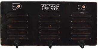 Philadelphia Flyers 3-Hook Metal Locker Coat Rack