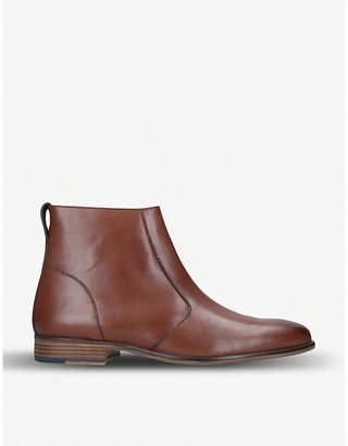 Kurt Geiger London Roehampton leather ankle boots