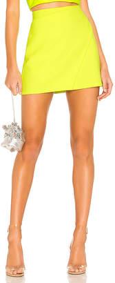 Alice + Olivia Shaylee Wrap Mini Skirt
