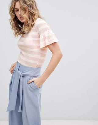 Minimum Burn Out Stripe T-Shirt