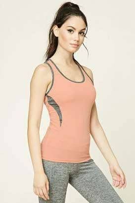 Forever 21 Active Contrast-Paneled Tank