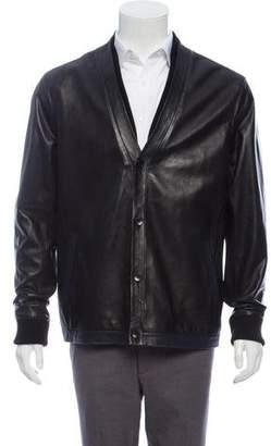 Daniel Won Leather Cardigan Jacket w/ Tags