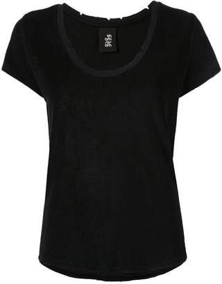 Thom Krom T-shirt with distressed details