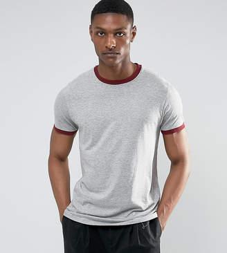 Brave Soul TALL Ringer T-Shirt