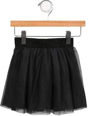 Ikks Girls' Pleated Tulle Skirt