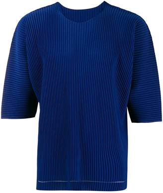 Issey Miyake Homme Plissé short-sleeve pleated T-shirt