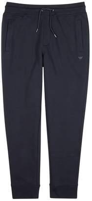 Emporio Armani Navy Jersey Jogging Trousers