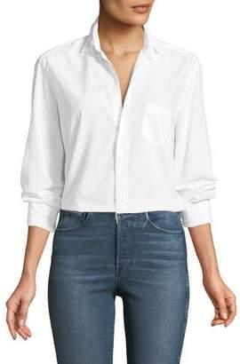 Frank And Eileen Eileen Button-Front Long-Sleeve Poplin Shirt
