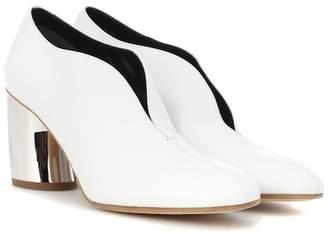 Proenza Schouler (プロエンザ スクーラー) - Proenza Schouler Leather curved heel pumps