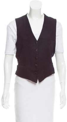 Golden Goose Wool Button-Up Vest