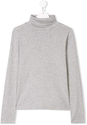 Ralph Lauren Kids TEEN roll neck top