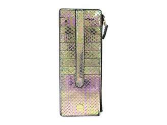 Lodis Stella Credit Card Case with Zipper Pocket