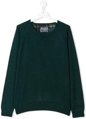 MC2 Saint Barth TEEN knitted crew neck sweater