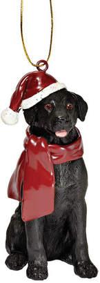 Design Toscano Lab Holiday Dog Ornament Sculpture