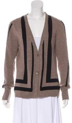 Etro Wool Button-Up Cardigan